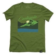 Camiseta Pedra do Cantagalo Verde | Nos Alpes