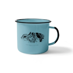 Marumbi Enamel Mug Steel 370 ml | Nos Alpes