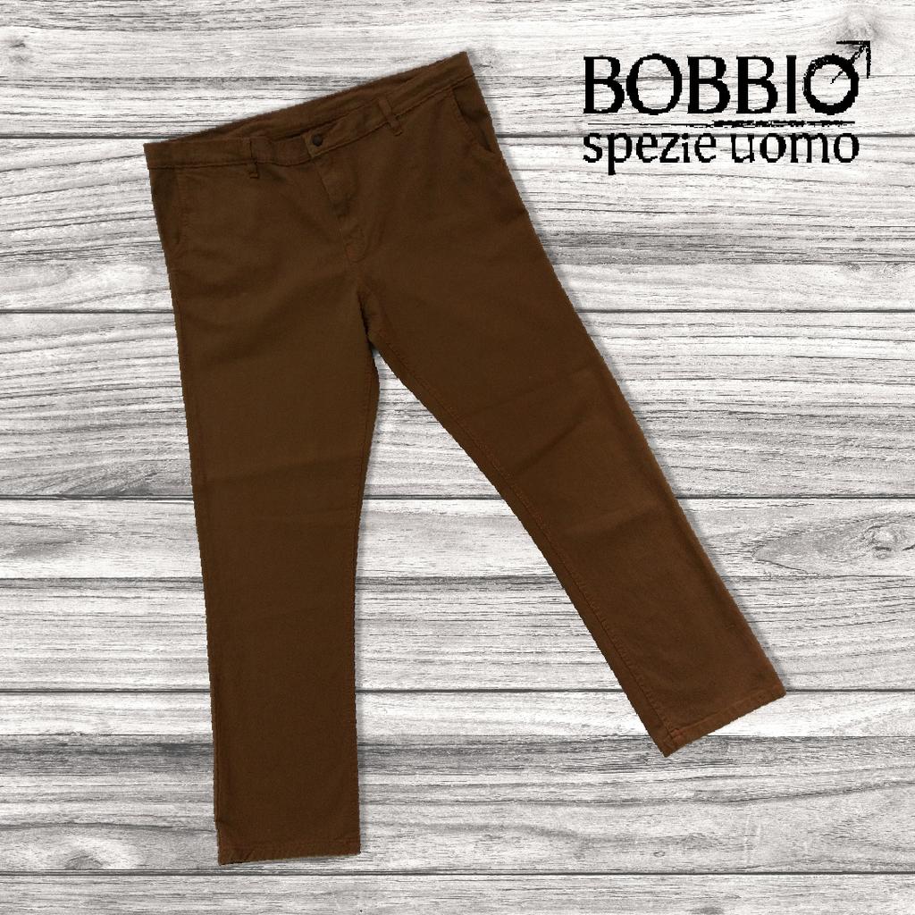 Pantalon De Gabardina Elastizada Bobbio