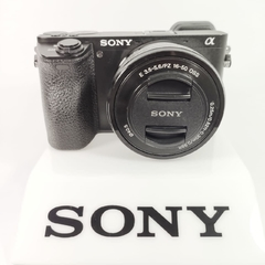 Câmera Sony Mirrorless Alpha A6500, 4K, Wi-Fi, 24.2MP (seminova)
