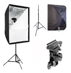 Softbox Kit 60x90 Com Suporte Flash - comprar online