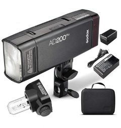Flash Portátil de bolso Godox AD200 PRO TTL Pocket