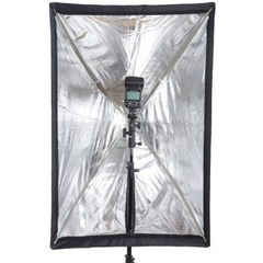 Softbox Universal 60x90 Para Flash E Luz Contínua
