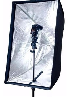Imagem do Softbox Kit 60x90 Com Suporte Flash