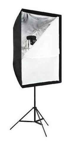 Softbox Kit 60x90 Com Suporte Flash