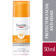 Eucerin Photoaging Control SPF 50 Sun Fluid Anti-Edad - 50 ml