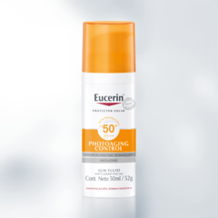 Eucerin Photoaging Control SPF 50 Sun Fluid Anti-Edad - 50 ml - comprar online