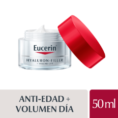 Eucerin Hyaluron-Filler + Volume-Lift Crema Dia Piel Normal A Mixta - 50 ml