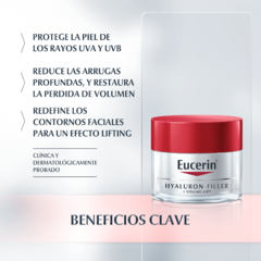 Eucerin Hyaluron-Filler + Volume-Lift Crema Dia Piel Normal A Mixta - 50 ml en internet