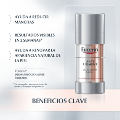 Eucerin Anti-Pigment Dual Serum Facial - 30 ml - Farmacia 12 de Octubre