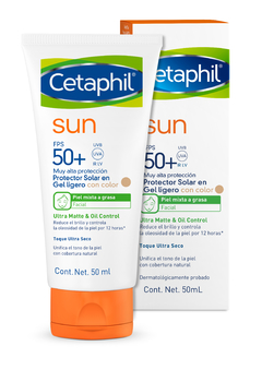 Cetaphil SUN Oil Control SPF50 Con Color - 50 ml - comprar online