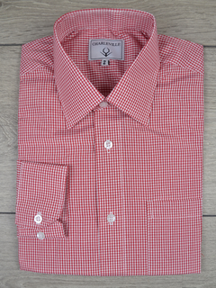 Camisa Check red