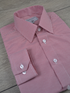 Camisa new look red - Charleville Camisaria