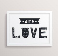 Quadro With Love - comprar online