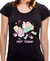 Camiseta Not Today Glitches PRETA - Feminina