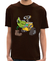 Camiseta Gardening for Robots MARROM - Masculina
