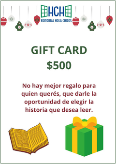 Gift Card $ 500.-