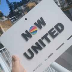 Porta - laços  Now united