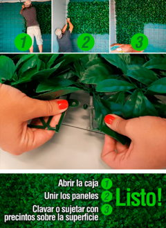 DECOREDES® ALANI Jardin Vertical Artificial (CAJA: 4,75 m²) en internet