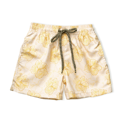 SHORT TACTEL HIBISCOS