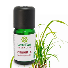 Óleo Essencial Terra Flor Citronela - 10ml