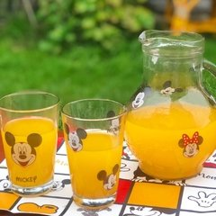 JARRA + VASOS Mickey & Minnie