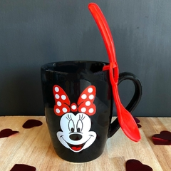 TAZA NEGRA MINNIE