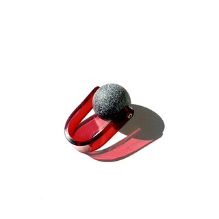 Anillo SATELLITE Red