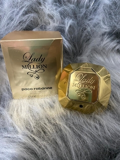 PERFUME FEMININO LADY MILLION PACO RABANNE EDP 80 ML