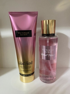 KIT HIDRATANTE E splash VICTORIA SECRET VELVET PETALS