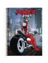 Caderno - 15 Matérias - 300 Fls - Power Dog - Foroni
