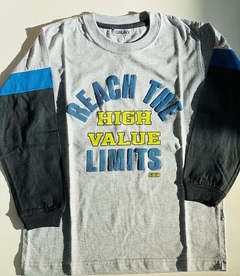 Remera Manga Larga Reach The Limits (000000000000630) - comprar online