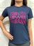 Camiseta Girl Power 3TwoRun Baby look para Treino
