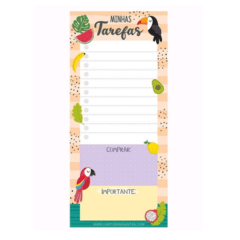 Bloco notepad Tropical