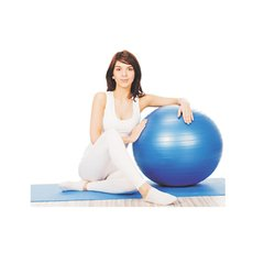 Bola Fisioterapia Professional Fisioball Fisiopauher Cinza 75Cm Fg20 - Orthopauher