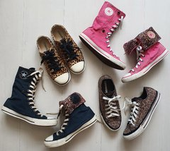 Imagem do Converse slim animal print