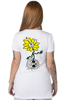 Camiseta Feminina Life is a Circle - comprar online
