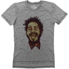 Camiseta Longline Gold Post Malone - Stoned Shop