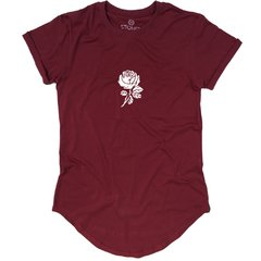 Camiseta Longline Rose na internet