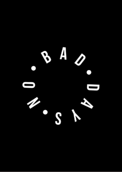 Pôster/Quadro - No Bad Days (Round)