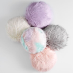 Almofada Fluffy Pillow Round