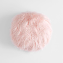 Almofada Fluffy Pillow Round na internet