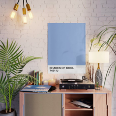 Pôster/Quadro - Shades of Cool (Pantone Inspired) - comprar online