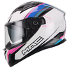 Casco Integral Speed 2.0 Disco Blanco Rosa