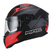 Casco Integral Speed 2.0 Raven Mate Negro Rojo