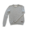 Sweater Tejido Berlin Gris Claro