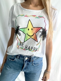 REMERA HAPPY - comprar online