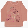 4782F Remera gatitos flamenco 9 12 y 18m