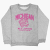 6043G Buzo frisa Michigan gris 10-16