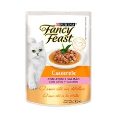 Purina - Fancy Feast Casserole (Atun y Salmon) 85g.